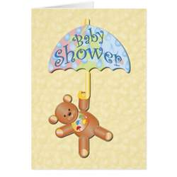 baby shower invitation note card zazzle