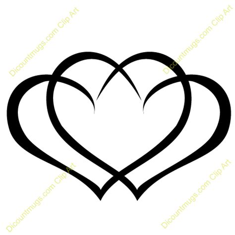 interlocking hearts tattoo designs intertwined hearts clip free