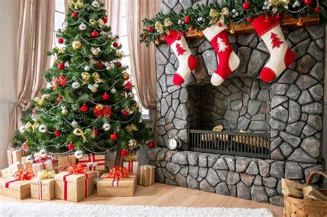 aliexpress com buy 7x7ft christmas backdrop fireplace