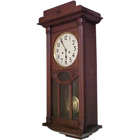 regulator junghans junghans german regulator wall clock c 1910 from rubylane