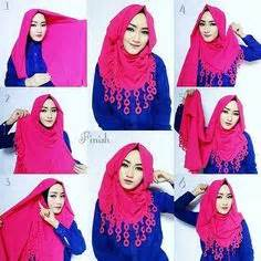 tutorial hijab pashmina rumbai this is a very easy basic hijab style for beginners it s