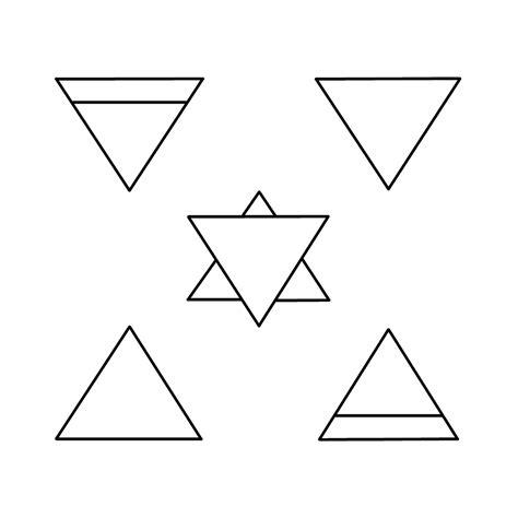 triangle tattoo design triangle images designs