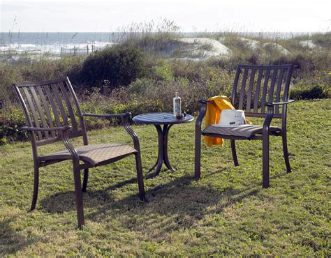 Outdoor Cast Aluminum Patio Furniture Cast Aluminum Outdoor Furniture Patio Productions