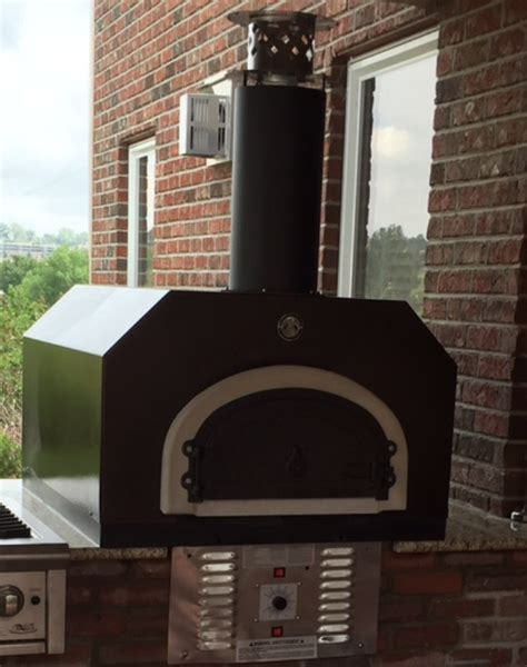 chicago brick oven cbo 750 gas wood hybrid countertop wood