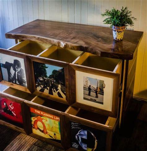 diy modern media table ideas home  design