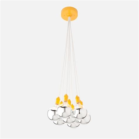 yellow light fixture city chandelier light fixture industrial yellow
