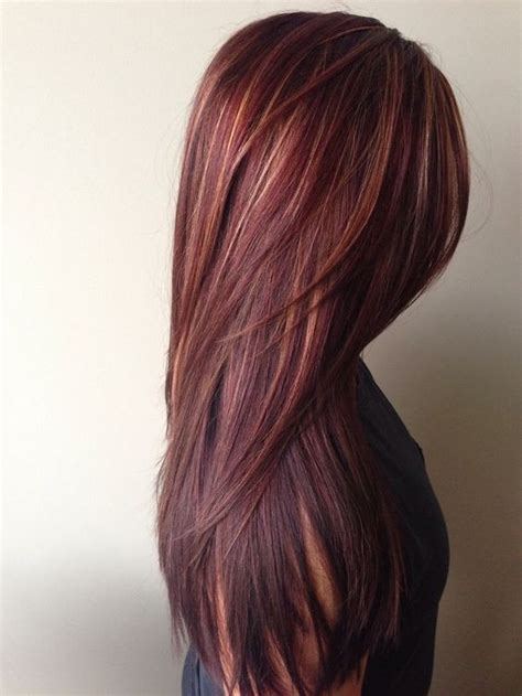 Hairstyles With Mahogany Highlights | 10 mahogany hair color ideas ombre balayage hairstyles 2018