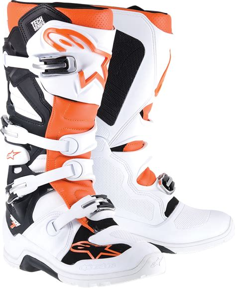 alpinestars tech 7 motocross boots alpinestars tech 7 enduro road mx motocross boots