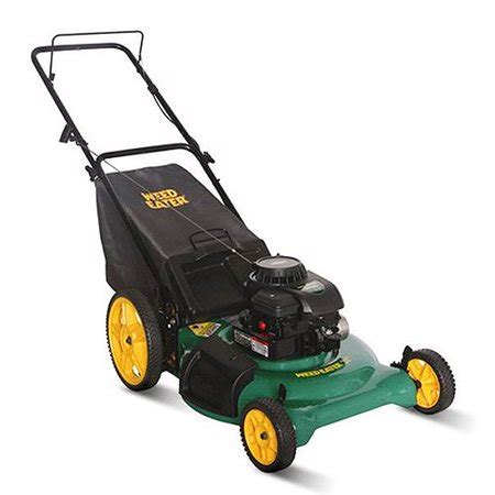 weed eater 21 quot lawn mower with rear bag walmart com