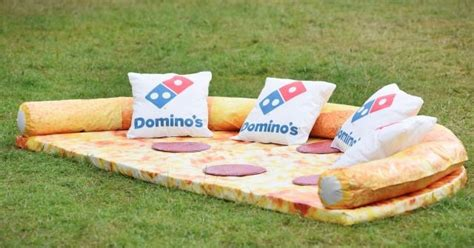 pizza sofa domino s pizza sofa is a real thing brand eating