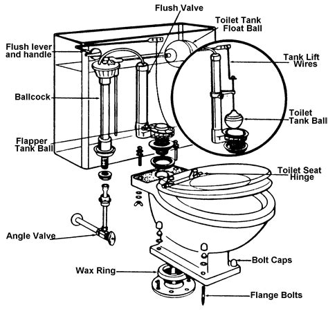 Gallery of toilet schematic