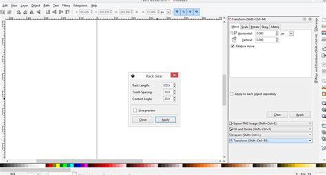 format untuk mengolah gambar inkscape cara membuat gambar gear dengan inkscape desain zain