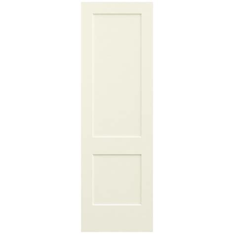 jeld wen 30 in x 96 in vanilla painted smooth