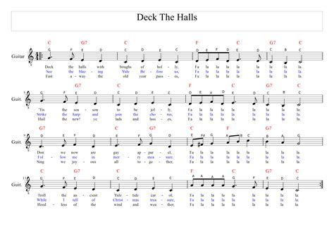 What Does Deck The Halls by Song Deck The Demch
