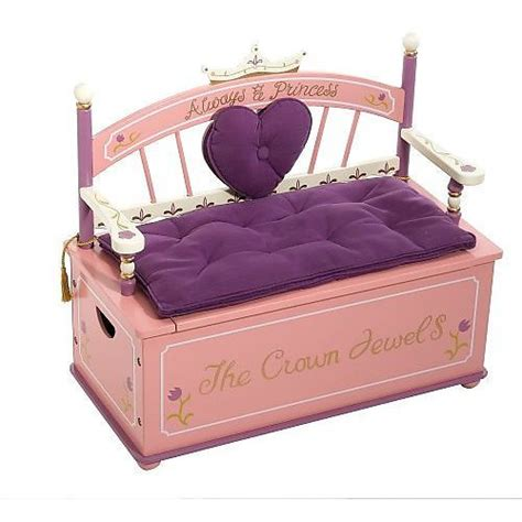 princess toy bench princess toy box bench toys toy chest and princess toys
