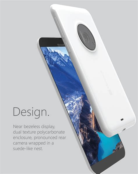 Microsoft Lumia Win 10 microsoft lumia 935 rendered by smalley looks svelte packs 31 mp concept phones