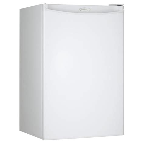 danby 4 4 cu ft mini refrigerator in white dcr044a2wdd