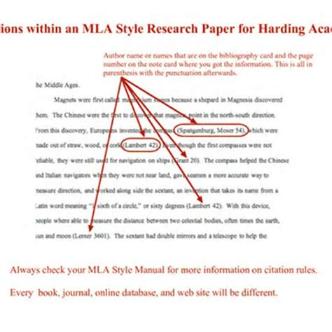 giving credit in a research paper how to mla cite essay cite essay mla essay format
