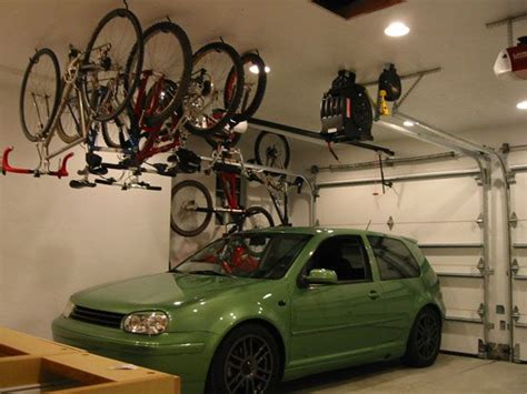 How To Hang Bicycles From The Ceiling by Hanging Bikes From Ceiling Clean
