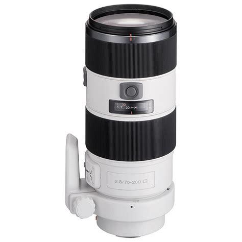 Sony Lens Sal 70 200mm G F2 8 sony af 70 200mm f2 8 g ssm a mount lens info
