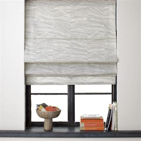 West Elm Blinds branches printed shade contemporary curtains