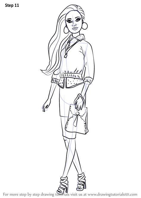 coloring pages barbie life in the dreamhouse learn how to draw grace from barbie life in the dreamhouse