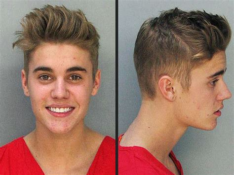 justin bieber s mug shot released crime amp courts duis