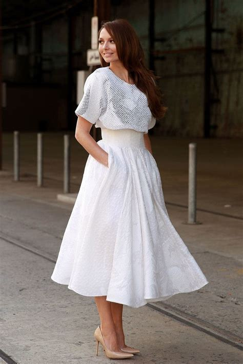 4 chic ways to wear a midi skirt glam radar