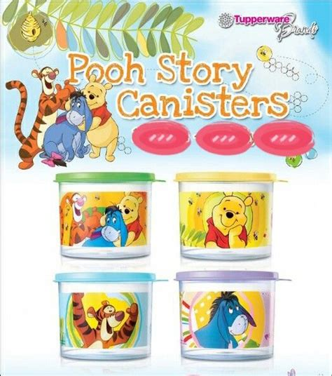 Pooh Canester pooh canister 4 www wildhart my tupperware ca tupperware