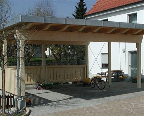 vordach carport überdachung carport garage vordach holzbau hepp