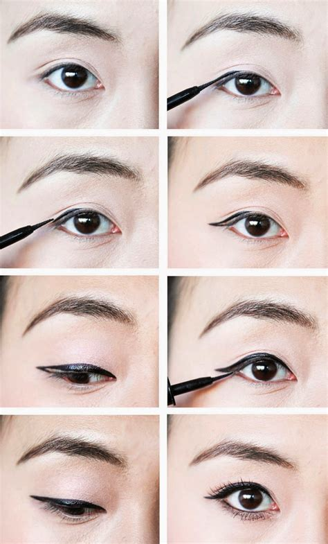 eyeliner tutorial for asian eyes how to makeup