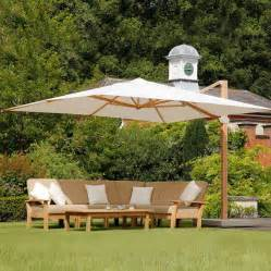 Large Patio Umbrellas Cantilever by Barlow Tyrie Napoli 13 Ft Square Cantilever Umbrella