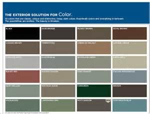 mastic siding colors mastic vinyl siding color chart