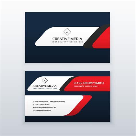 professional business card design templates free professional business card design template in and blue