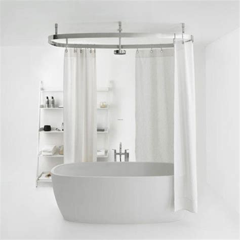 Clawfoot Tub Shower Curtain by Shower Curtain For Clawfoot Tub Bathroom Ideas Rilane