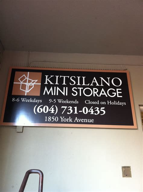 mini storage vancouver bc mattress and box delivery from kitsilano mini