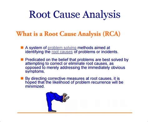 root cause analysis template root cause analysis template 9 free for pdf