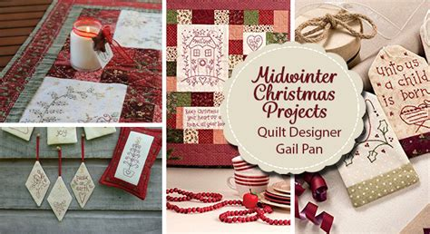 Patchwork Shops Nz - midwinter with quilt designer gail pan the
