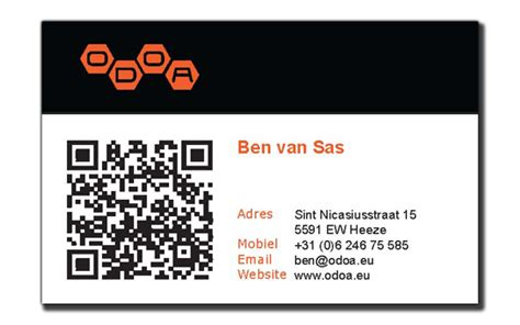 business card with qr code template qr codes for business cards