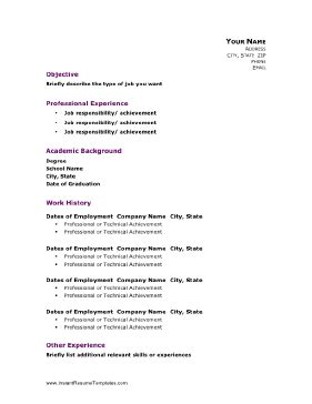 Academic Resume Exles by Professional Background Resume Exles 28 Images 8