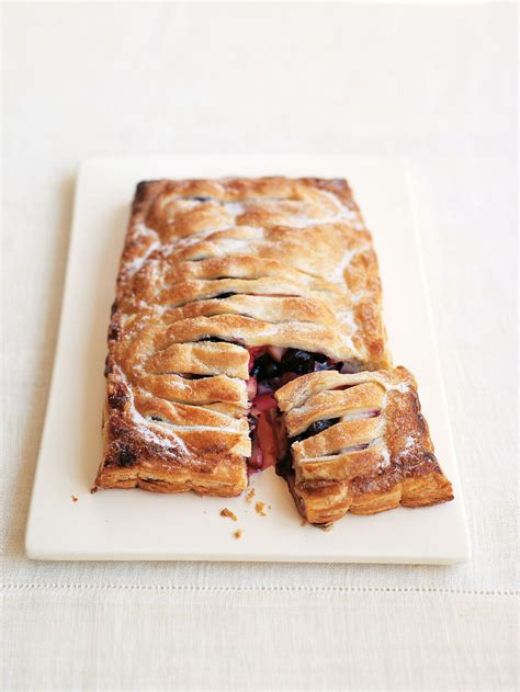 Jalousie Pastry by Aol Uk Food Blueberry Jalousie