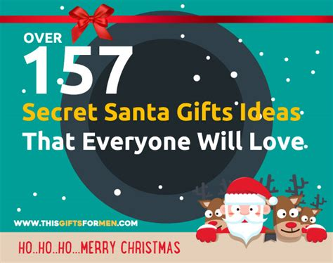 gifts for your secret 1001 best ideas to get present for him from