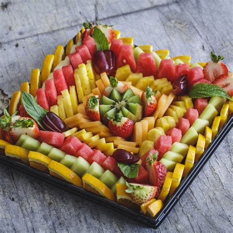 fruit tray fruit platter large bunbury farmers market
