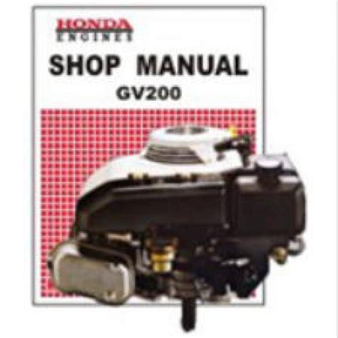 small engine repair training 2012 honda accord free book repair manuals honda gv200 engine shop manual