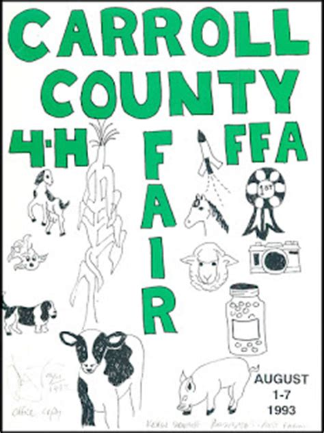carroll county library digitizes westminster newspaper reflections on delmarva s past dayhoff soundtrack the 1993 annual carroll county maryland 4 h ffa fair program