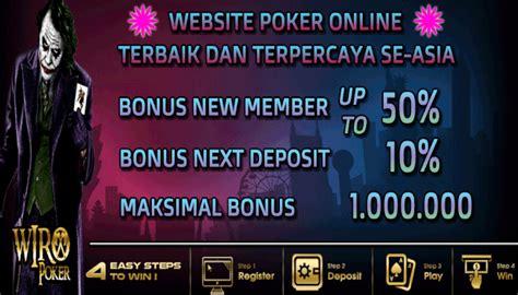 kumpulan situs agen idn poker  bonus  member