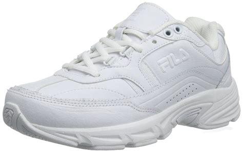 fila shoes white fila memory workshift slip resistant