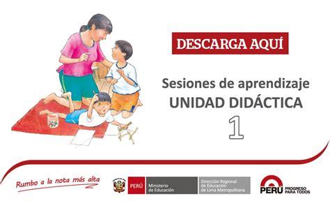 sesiones de aprendizaje por el dia de la madre descarga las sesiones de aprendizaje de primaria