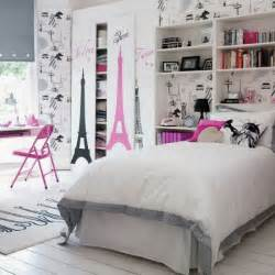 Teenage Room Decorations Cute Teenage Girls Room Decor With Eiffel Tower Theme