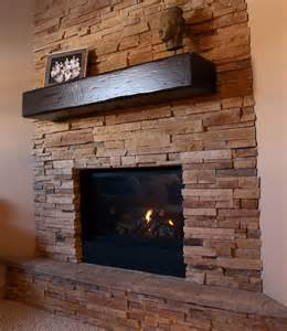 Wood Beam Bench Barn Beams Fireplace Mantels